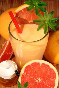 Grapefruitový  nápoj